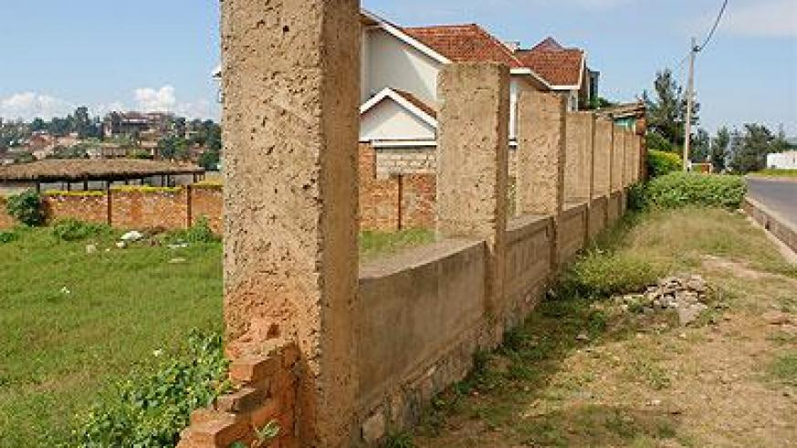 all that's left of this home is its gate in nyarutarama.