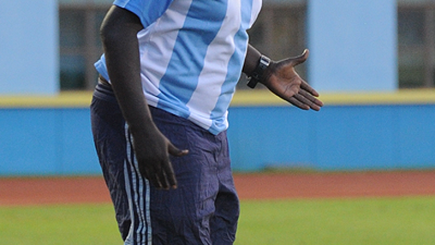 NOT WANTED: Ntagwabira's contract with Rayon is due to expire after the MTN Peace Cup final. Sunday Times / File