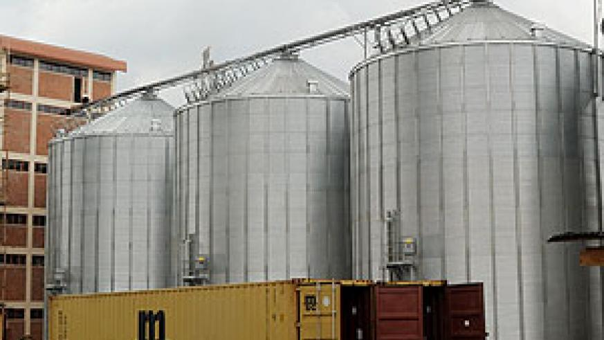 Grain silos. The New Times / File.