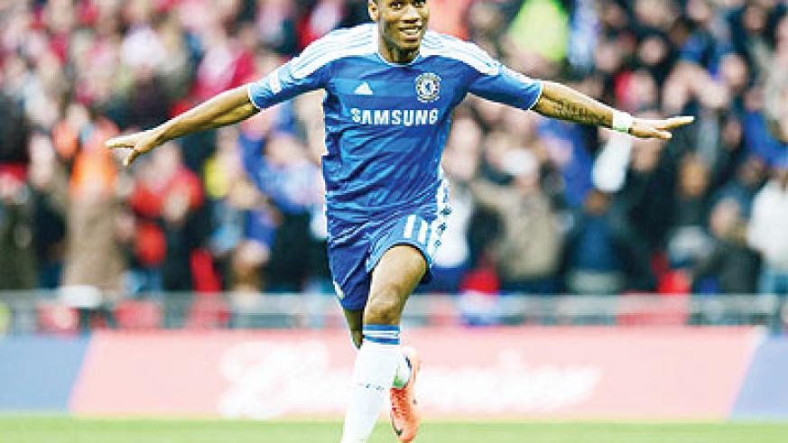 After leading Chelsea to the Champions League title, Didier Drogba decided to join Shanghai Shenhua. Net photo.