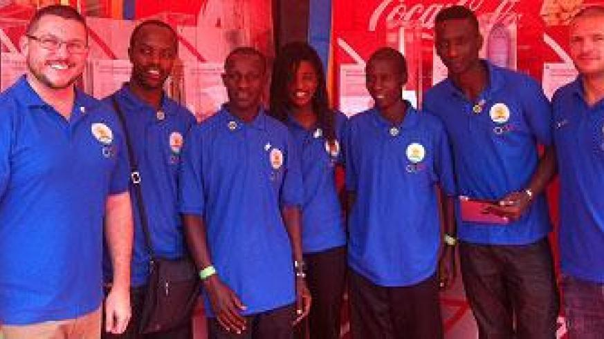 The Rwandan Olympic team touched base in Bury St Edmunds last week to prepare for the forthcoming London Games. The New Times / Courtesy.