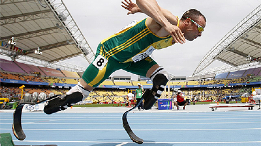 Oscar Pistorius is going to the Olympics. Net photo