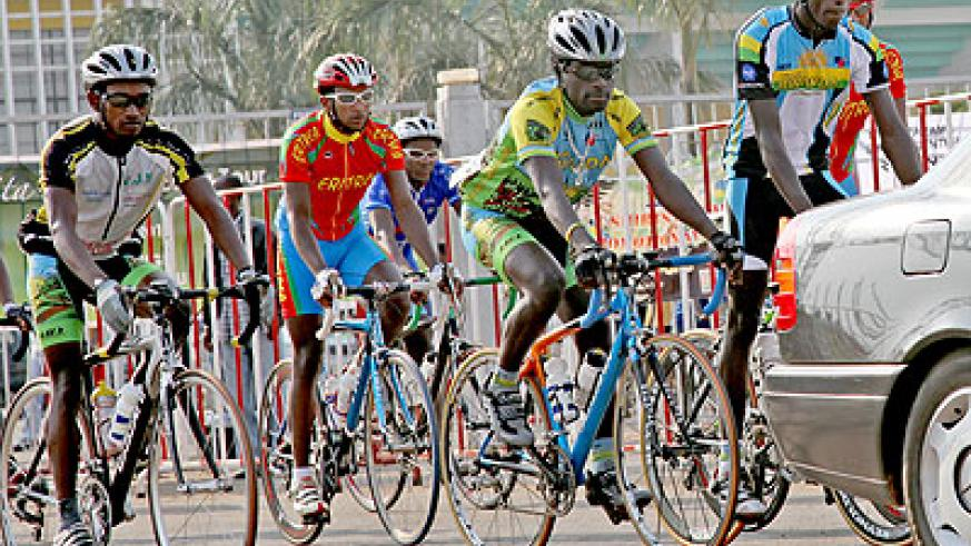 The 2012 Tour du Rwanda will see cyclists cover a total of 876 kilometres split into eight stages. The New Times / T. Kisambira.