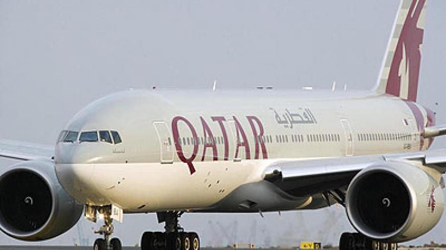 A Qatar Airlines plane: The airline seeks to increase cargo capacity which would drive down transport costs.