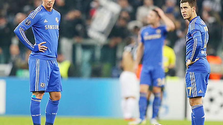 Fernando Torres (left), and Eden Hazard (right) and Chelsea must beat FC Nordsjaelland to have a shot at advancing. Net photo.