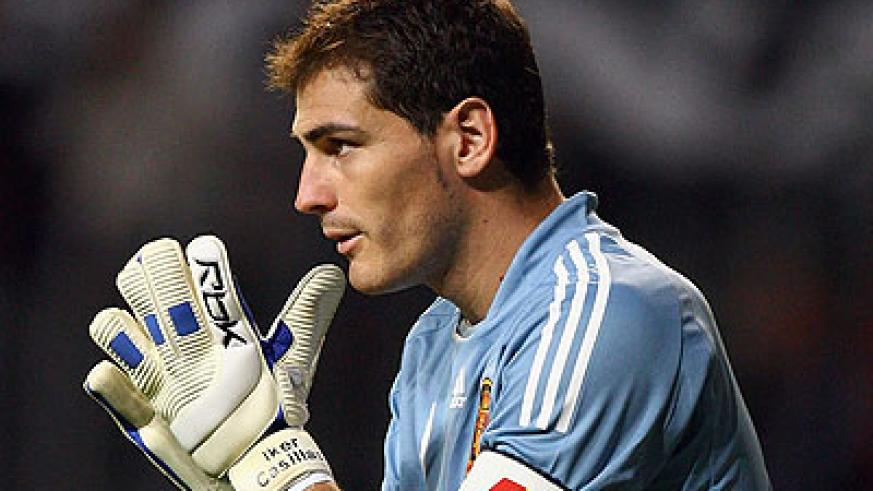 Casillas made his debut in 2000. Net photo.