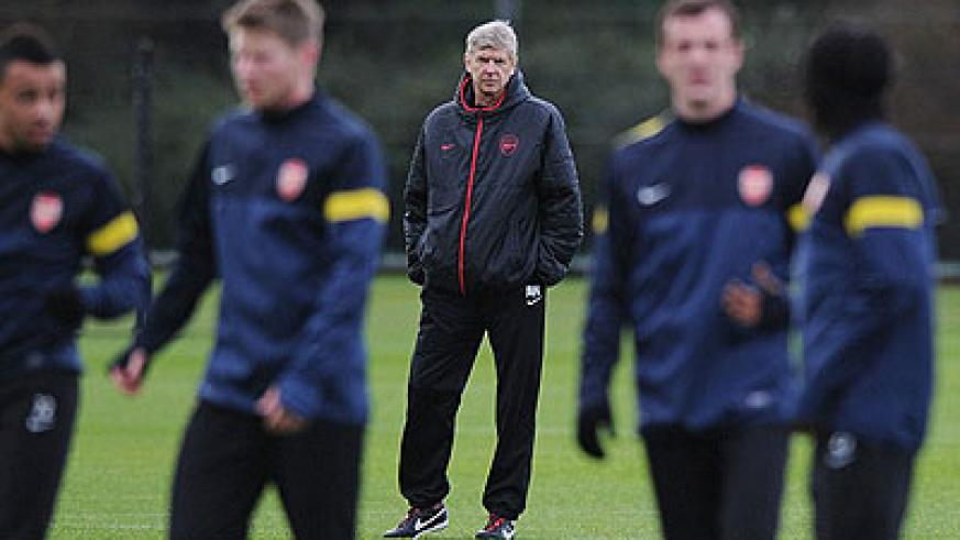 Against the tide: Arsenal manager Arsene Wenger is under increasing pressure from the fans. Net photo.