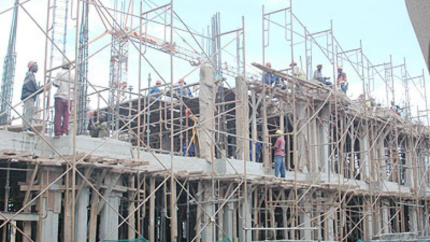 The are many building projects countrywide, an indicator of steady growth. File photo