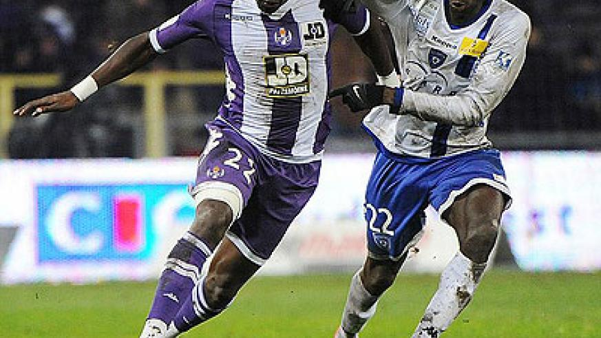 France midfielder Moussa Sissoko (left), who signed for Newcastle United from Toulouse could make his debut against Aston Villa Tuesday night. Net photo