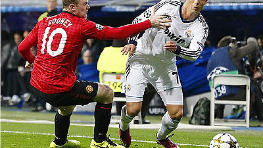 Cristiano Ronaldo scored for Real Madrid, after Danny Welbeck had put United ahead. Net photo.