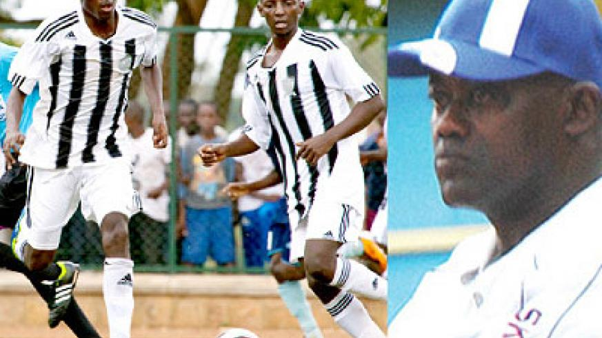 Tumaine Ntamuhanga (left) and Andrew Buteera will be making their debut in the Champions League against Yaounde Kanyankole's Vital'O (right) on Saturday. Saturday Sport /T. Kisambira.
