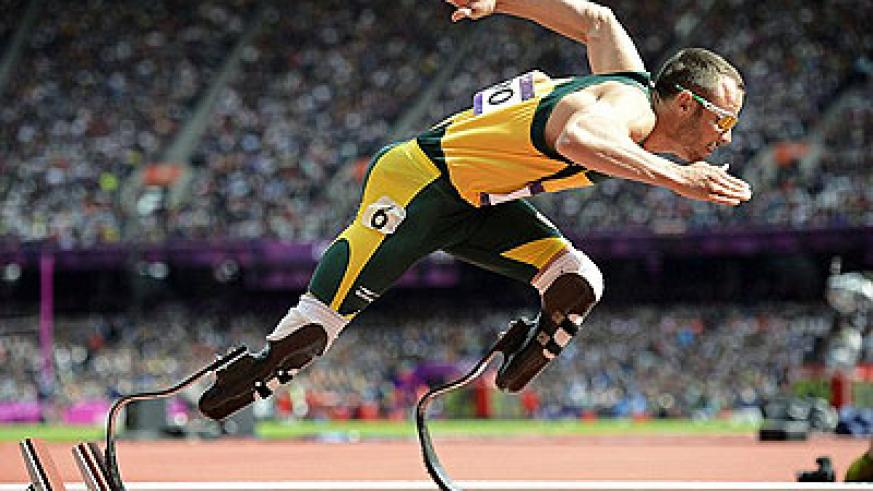 The athlete made history at the London 2012 Olympics becoming the first amputee sprinter to compete in the able-bodied Games. Net photo.