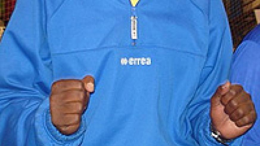 The Rwandan men junior team coach Paul Bitok wants to finish in top four and qualify for the world championships.  The New Times / File.