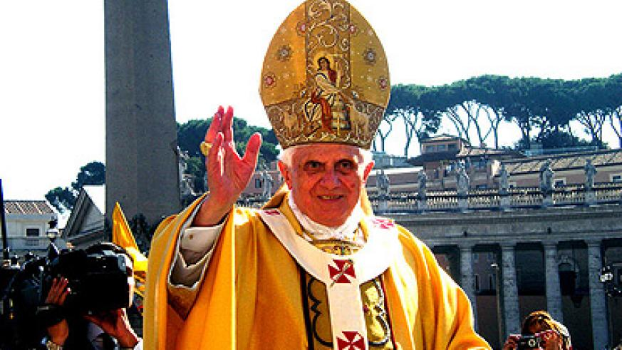 Pope Benedict XVI; The Catholic Church has stood by the same doctrines since time immemorial. Net  photo.
