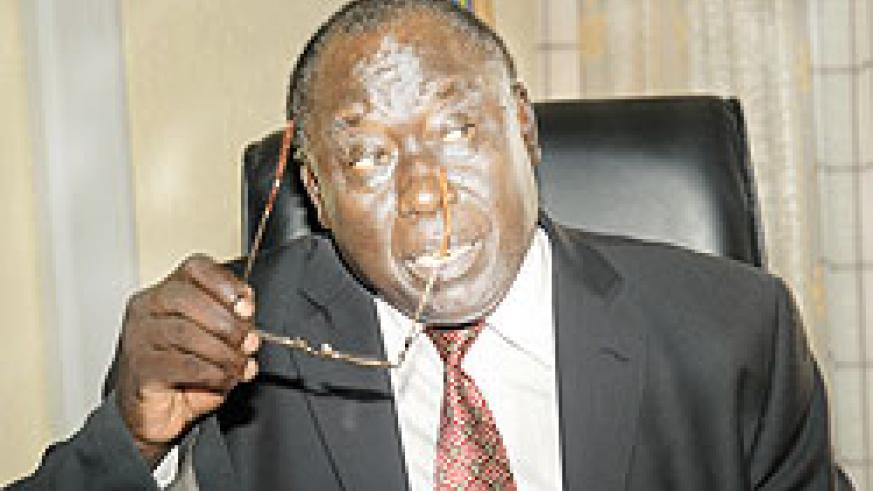 Justice minister Karugarama. The New Times/ File.