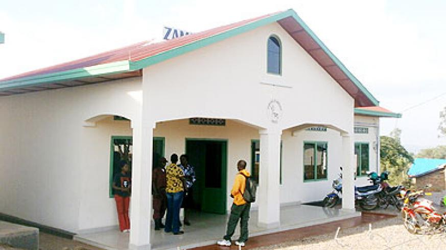 The new Umurenge Sacco building in Bambugo sector, Gasabo. The New Times/ Séraphine Habimana