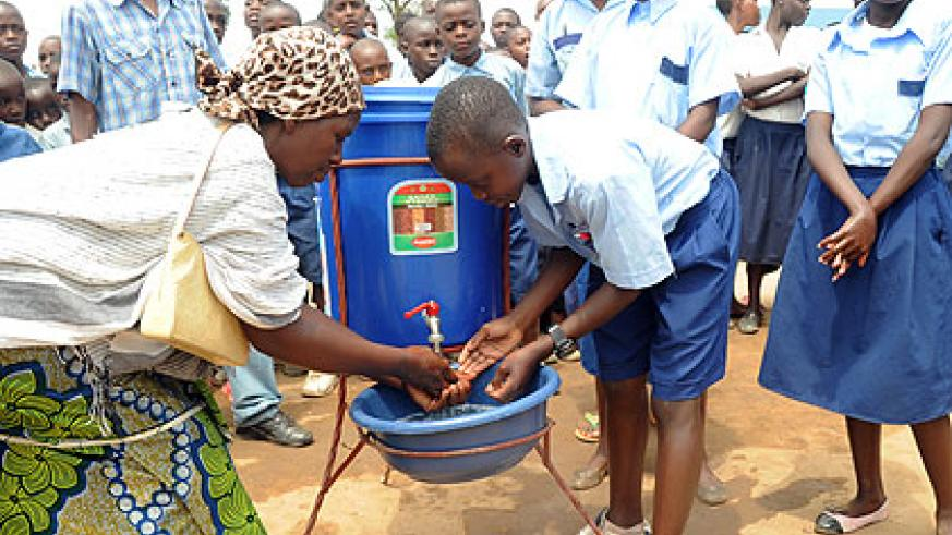 Rwanda has made progress in implementing sanitation. The New Times/File.