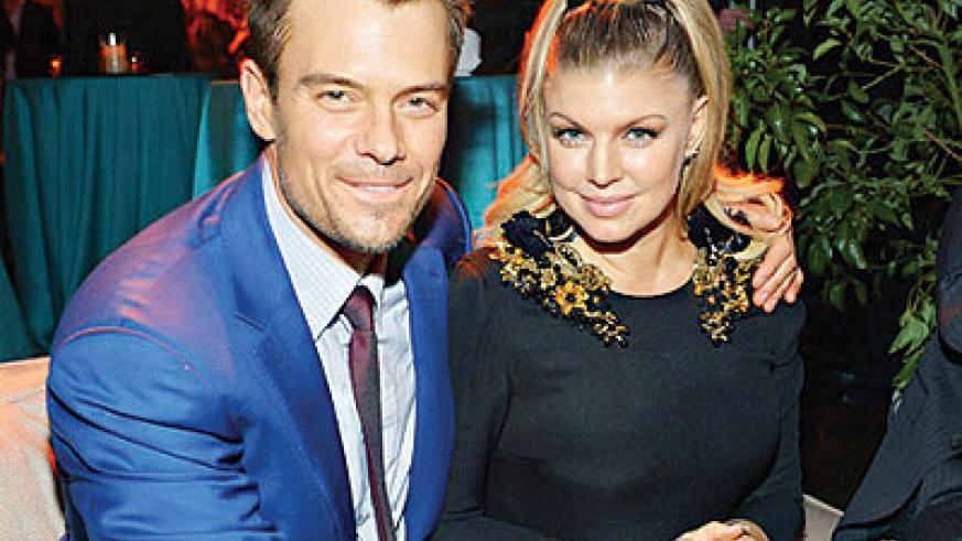 Fergie and Josh Duhamel. Net photo.