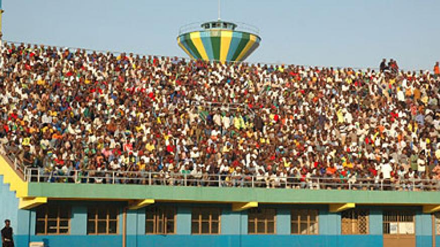 Amahoro National Stadium has a capacity of 25,000.  The New Times / File.