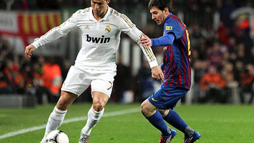 World's two best players Cristiano Ronaldo and Lionel Messi will come face to twice in a space of five day in the Kings Cup on Tuesday and La Liga on Saturday.  Net photo