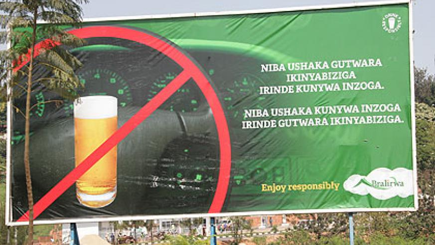 Kigali City intends to censor all billboard content. The New Times/ Timothy Kisambira.
