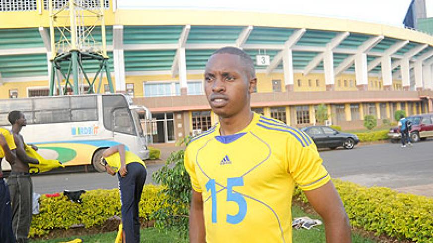 Junior team captain Aimable Mutuyimana. The New Times / J. Mbanda