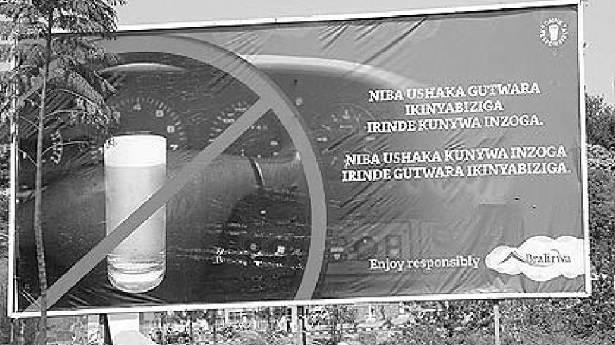 Kigali City intends to censor all billboard content.  The New Times / File.