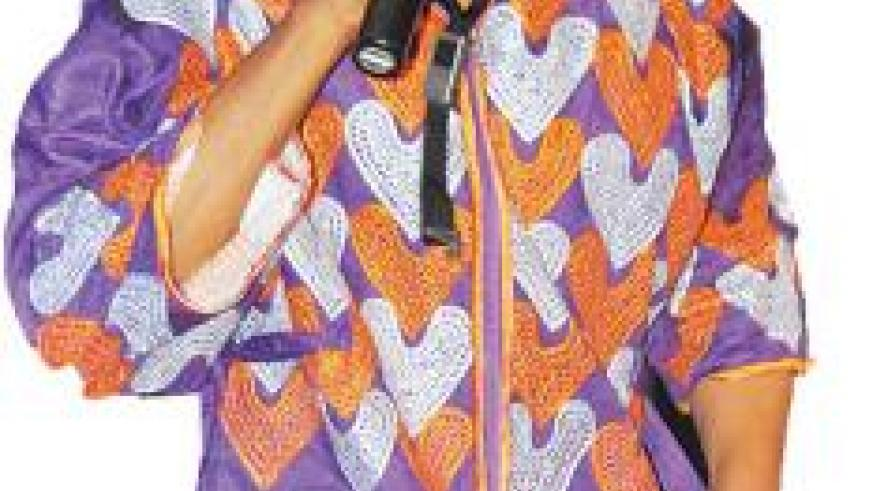 Singer Femi Kuti performs at the FESPAD Gala Night.