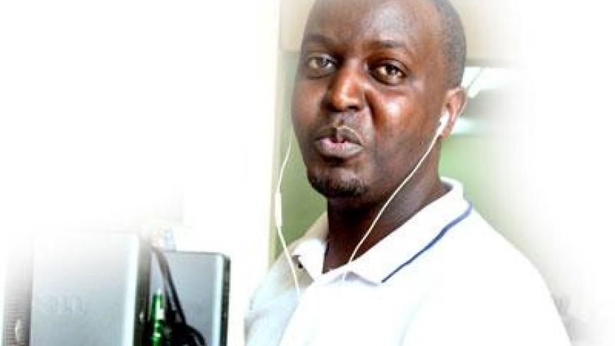 Eric Bright is one of  the many atheists in Rwanda. The New Times / T. Kisambira.