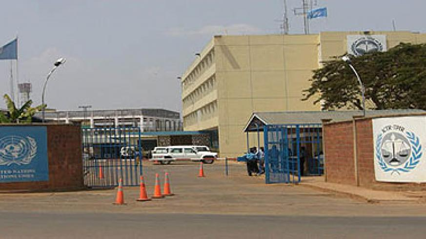 ICTR offices in Kigali. The New Times / File.
