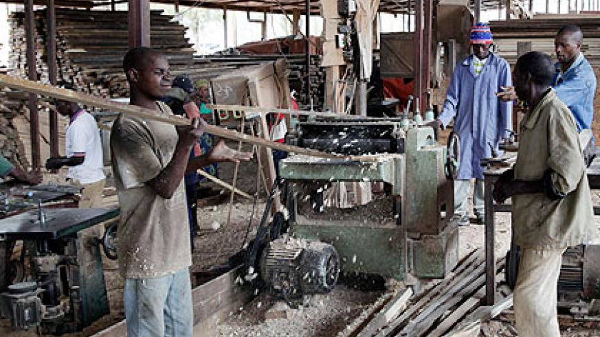 More Rwandans are getting loans to improve their businesses.  The New Times/File.