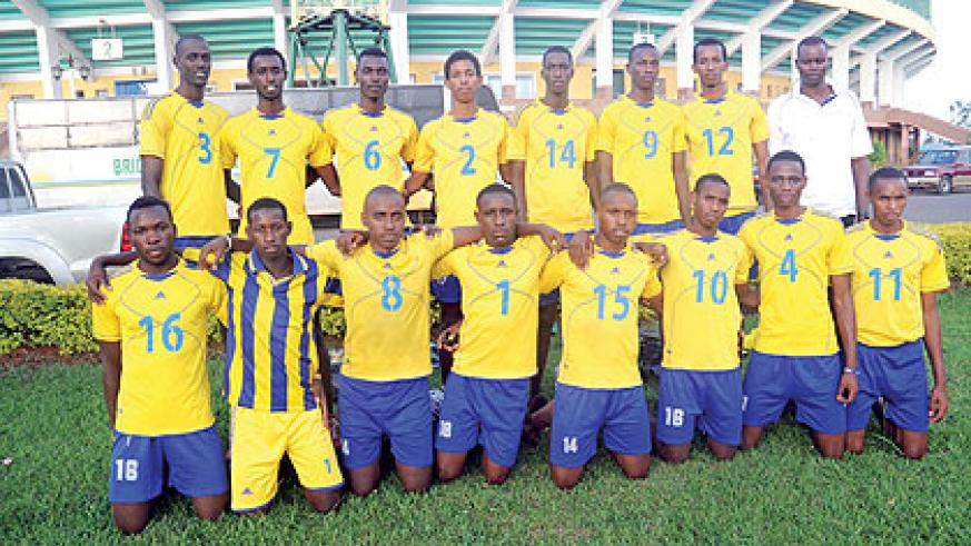 Rwanda's Junior team secured their third win to qualify to the FIVB World Championship. The New Times / J. Mbanda.