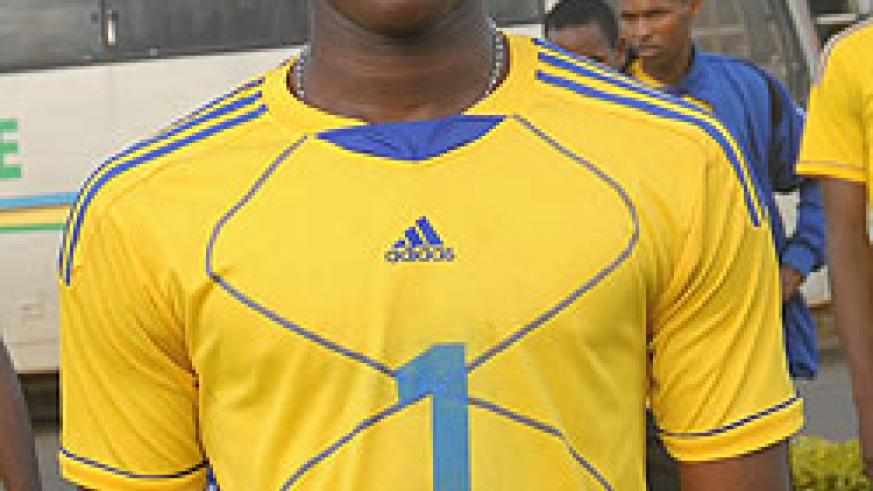 Samuel Tyson Niyogisibizo one of the key players (left attacker). The New Times / File.