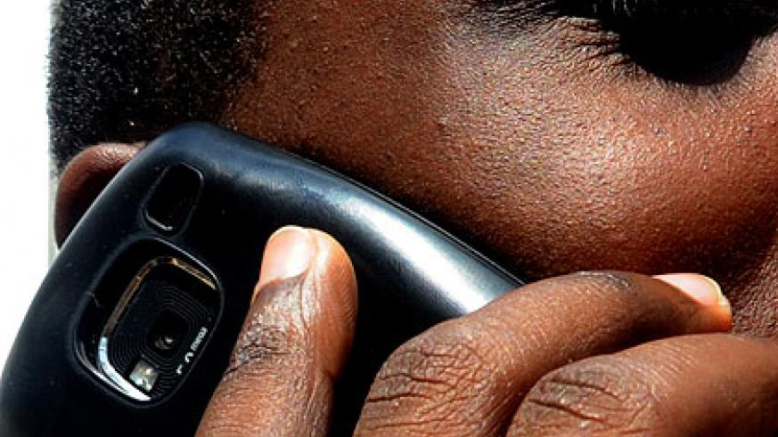 Half of the country's population owns a phone. The New Times/Timothy Kisambira.