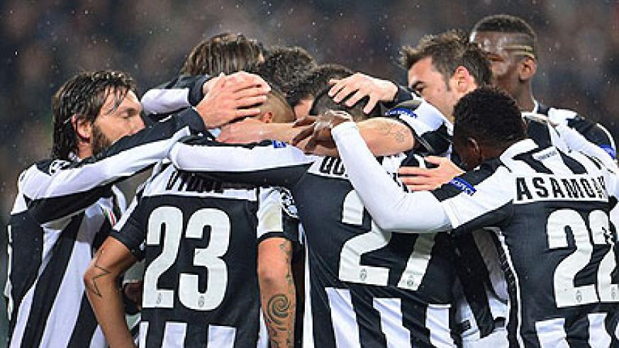 Juventus are through to the quarter-finals after seeing off Celtic over two legs.  Net photo.