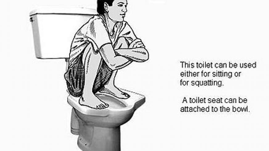 Rules of the squat toilet   The New Times   Rwanda