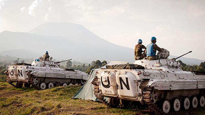 MONUSCO has some 17,000 troops in the DR Congo; Despite the nomination of an African to head the mission, only a strong leadership in the country would guarantee stability. Net photo.