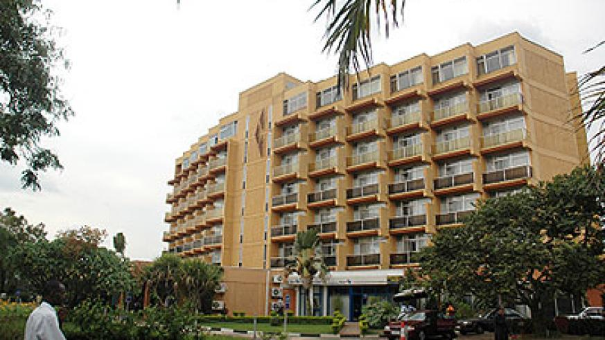 Umubano Hotel in Kigali. Hotel operators want new law to boost the sector.  The New Times/ File