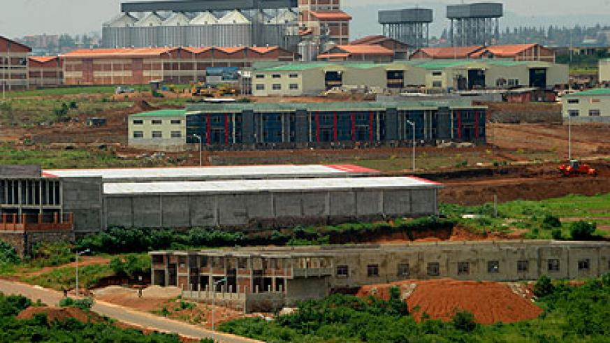 Part of the economic zone where firms will relocate to in May. The New Times/J.Mbanda
