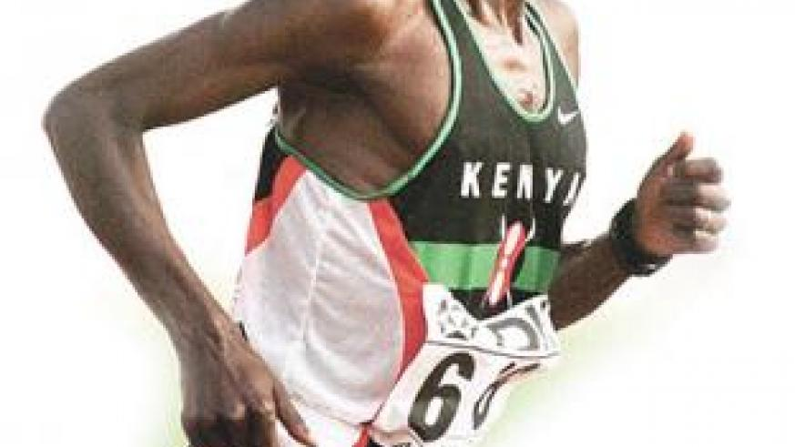 Moses Kiptanui told Reuters doping took place in Kenyan running camps. Net photo.