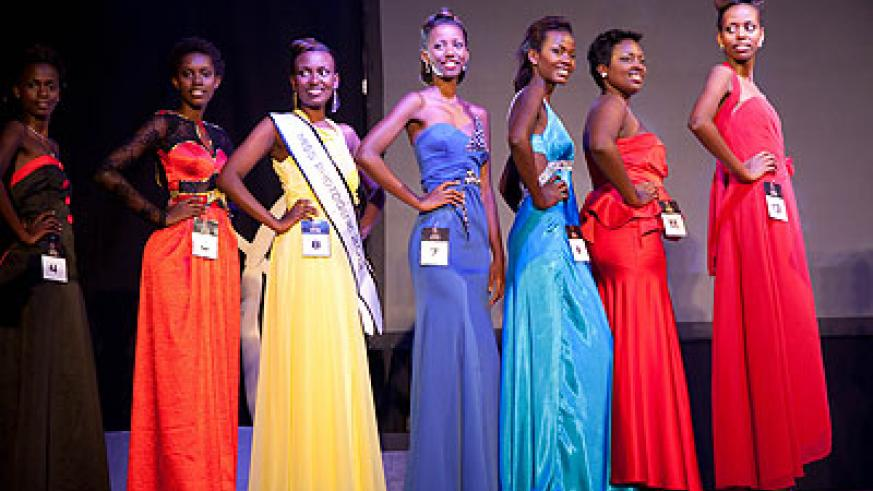 There are about a dozen girls who are elected and crowned as 'beauty queens' form various contests every year.  The New Times/  File.