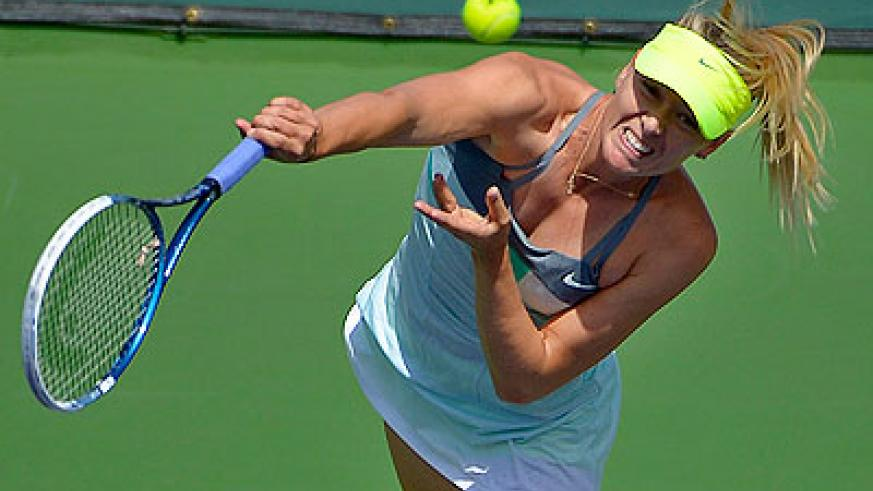 Sharapova is well accustomed to the allure of being viewed as the game's best player. Net photo.