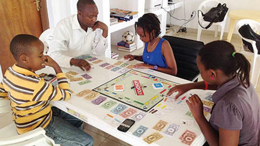 Children with their teacher at Kigali Professional Tutors. Education Times/Courtesy