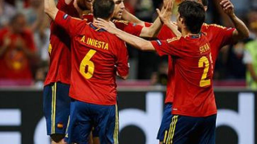 World champions Spain entertain Finland on Friday before travelling to Paris to face France on Tuesday. Net photo.