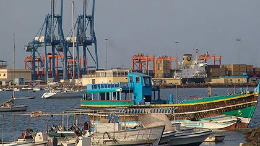The Port of Djibouti. The New Times/File.