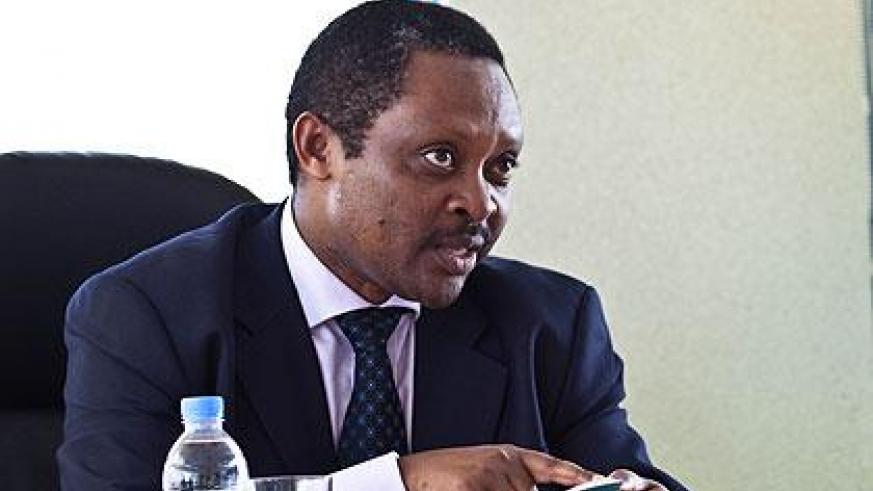 The Chief Executive Officer of the Rwanda Governance Board (RGB), Professor Shyaka Anastase.