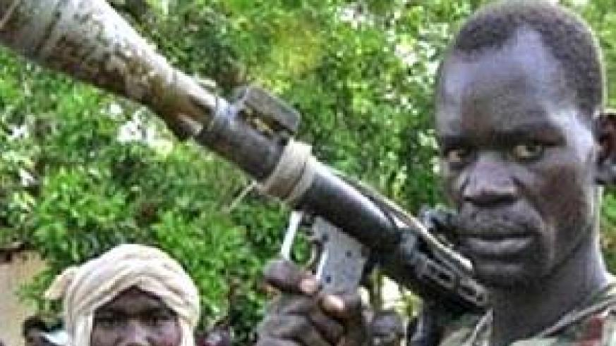 Rebel fighters in the Central African Republic. Net photo.