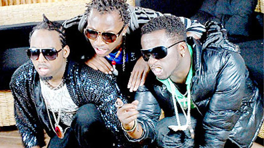 The Urban boyz at a past event. The New Times / Courtesy.