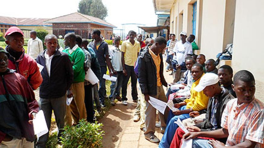 Patients await treatment. EAC member states will continue sharing experiences with each other in order to improve health services within the region. The New Times/ John Mbanda.