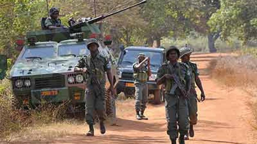 Rebels in Central African Republic.  Net photo.